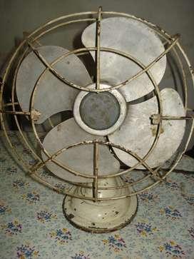 Ventilador De Mesa Antiguo Funcionando Leer Bien