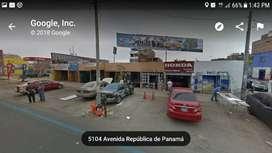 VENDO LOCAL COMERCIAL COMO TERRENO EN SURQUILLO – CDRA. 51 REP. PANAMÁ