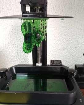 Servicio de impresión 3d con resina