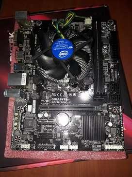 COMBO BOARD  H110M H  procesador i5