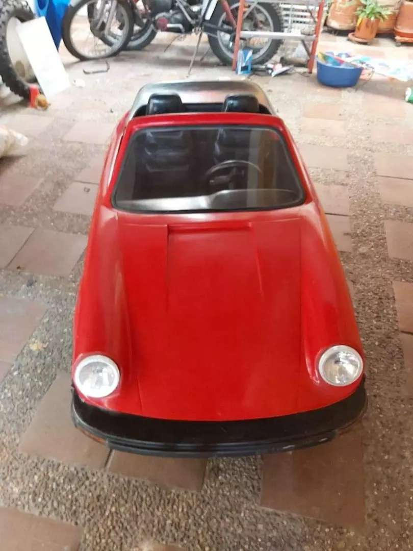 Honda MiniPorshe  de la TYM motor honda de 3 hp 4 tiempos original carro de colección VENDO O CAMBIO 0