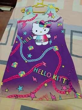 Vestido hello kitty talla 12