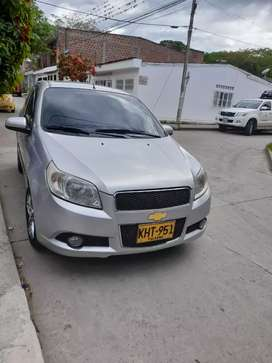Chevrolet aveo GT emotion modelo 2011