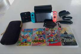 Nintendo Switch 32. Paquete completo