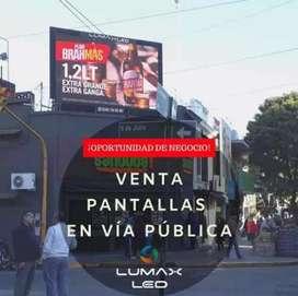 Oportunidad de Negocio - Pantalla LED Via Publica en Paraná