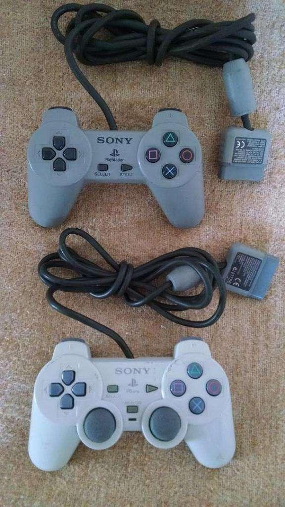 Controles PSX Classic y Dual Shock