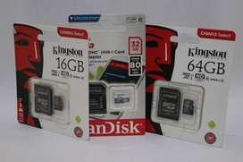 MEMORIAS MICRO SD 16 - 32 - 64 GB OFERTA!!!