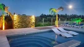 ku50 - Casa para 2 a 10 personas con pileta y cochera en Pocito