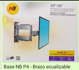 BASE NB - BRAZO ECUALIZABLE LARGO