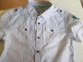 Camisa niño talle 8