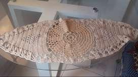 Juegos de carpetas tejidas a mano para decorar las salas y comedores
