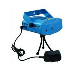 Protector láser audio rítmico con puntos verde y rojo