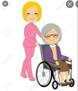 Cuidado de niños y adultos mayores