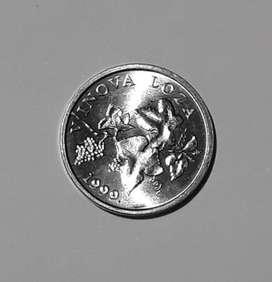 Moneda de Croacia sin circular, 2 lipe, 1999