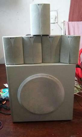 Home Theater 5.1 Stromberg 5 Parlantes