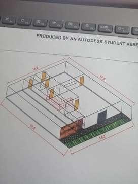 Planos y diseños en AutoCAD