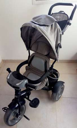 Triciclo Premium Kiddy Neo Asiento 360º Luz Y Sonidos