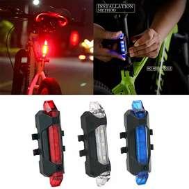 Luz LED trasera para bicicleta CONTRAENTREGA