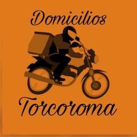 URGENTE SOLICITO DOMICILIARIOS CON MOTO