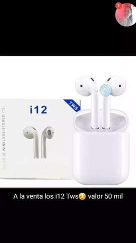 Audífonos i12