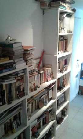 Dos Bibliotecas Estanterias (juntas o separadas) sin libros