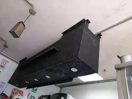 Multimueble colgante metálico, con instalaciones  de luz y toma corriente electrico