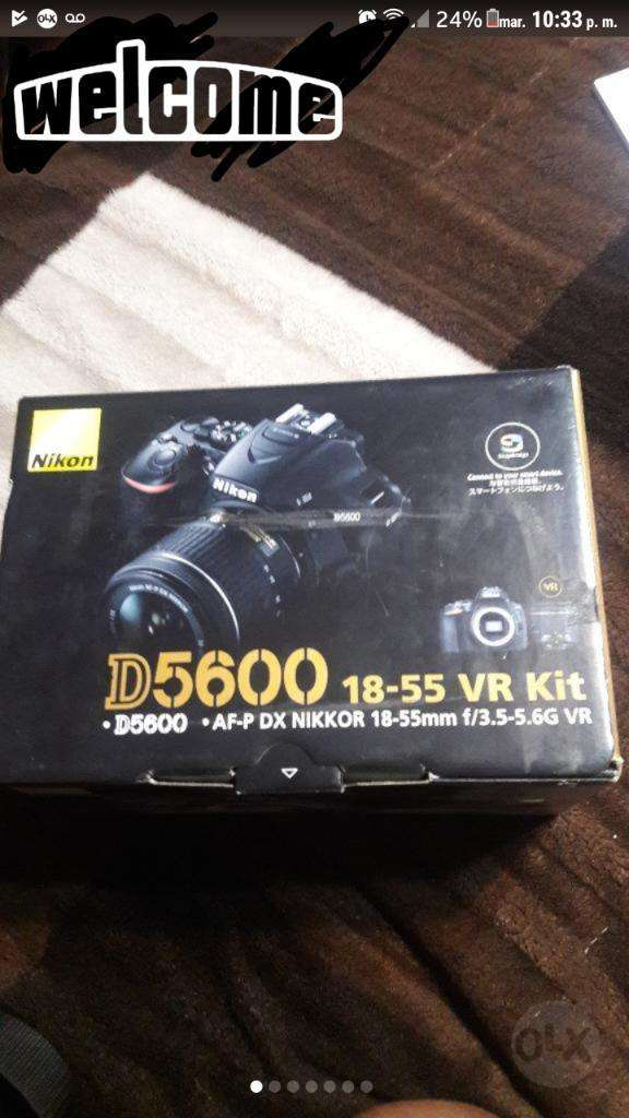 Cámara Nikon D5600 Nuevo