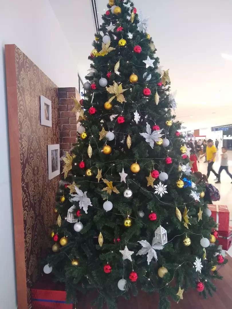Árbol de Navidad de 2x40 CM EXTRA GRANDE 0
