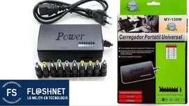 Cargador Universal Para Laptop Portatil Hp Acer Toshiba Dell