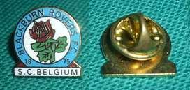 RARO PIN FUTBOL BLACKBURN ROVERS FC SUPPORTERS CLUB BELGIUM 1990s FILIAL BELGICA