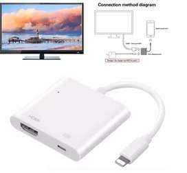 Cable De Video Hdmi Para iPhone 8 iPhone 10 Iphone 7 Tv Proyector