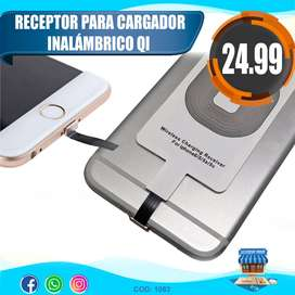 Receptor Para Carga De Celulares Iphone QI