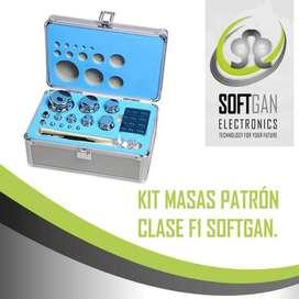 Kit masas patrón clase F1 de 1g a 5kg