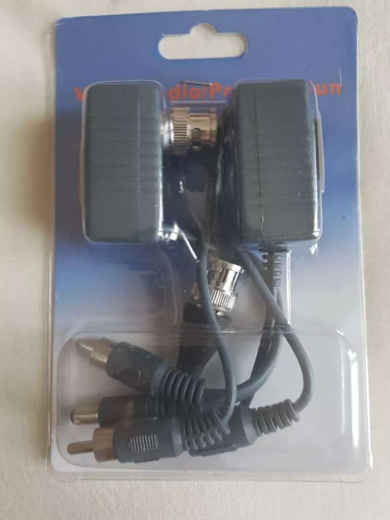 Balun Hd Cvi Ahd   Power audio video Cctv Rj45 0