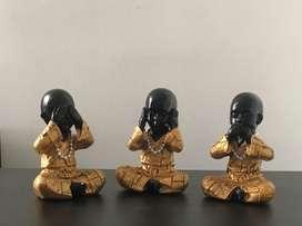 Set de Budas en Marmolina