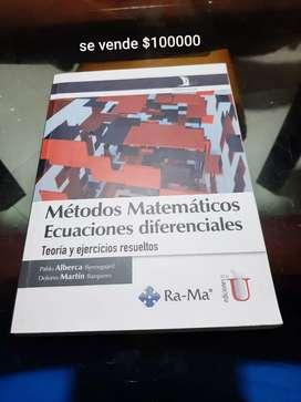 Metodos matemáticas ecuaciones diferenciales