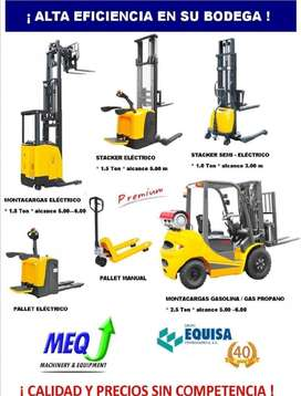 MONTACARGAS / PALLETS / STACKERS