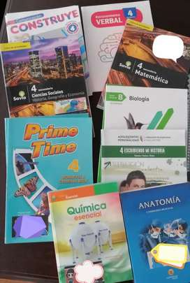 Libros 4to Secundaria