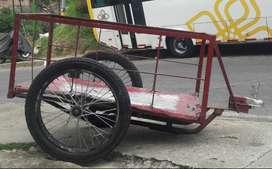 Remolque con base para moto