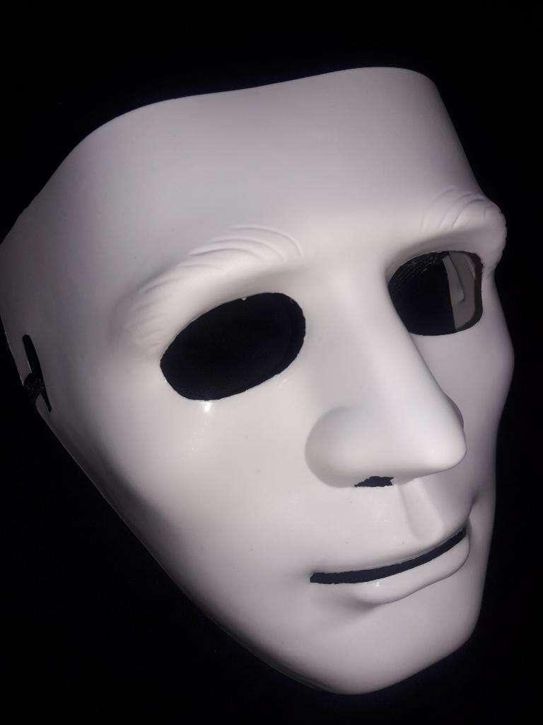 Máscara Disfraz Teatro Baile Cara Neutra 0