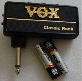 AMPLIFICADOR DE AURICULARES VOX AMPLUG 2 CLASSIC ROCK