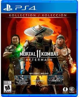 Ps4 Mortal Kombat Aftermath Pre Venta