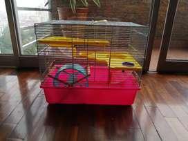 Bonita jaula para Hamster