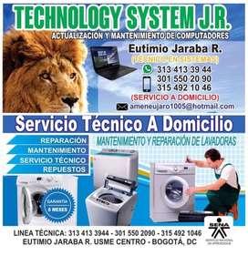Mantenimiento de lavadoras y computatores