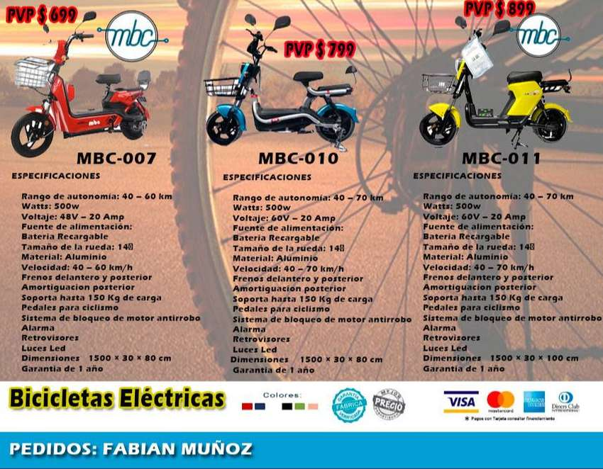 BICICLETAS ELECTRICAS CON GRAN AUTONOMIA 0
