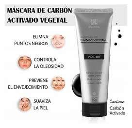 Mascarilla Facial De Carbon Elimina Puntos Negros Impurezas