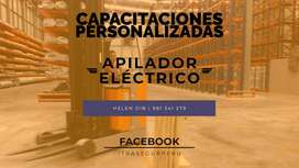 CAPACITACION, ENTRENAMIENTO Y CURSO EN APILADOR ELECTRICO