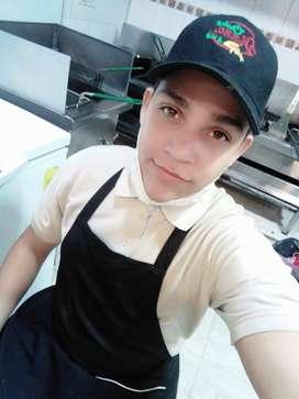 buenas tardes busco empleo soy pro activo dinámico abierto a aprender muchas cosas tengo experiencia en cocina, ventas