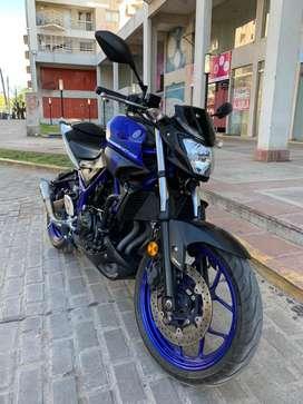 Yamaha MT03 2018