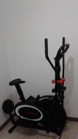 Bicicleta eliptica con twiser